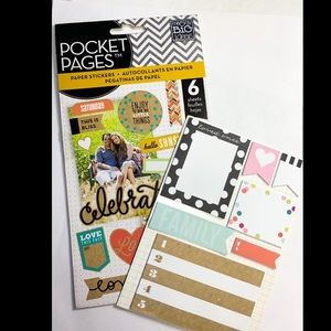 The Happy Planner pocket pages stickers